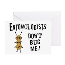 Entomologist Greeting Card