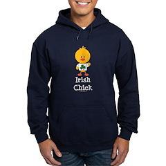 Irish Chick Hoodie (dark)