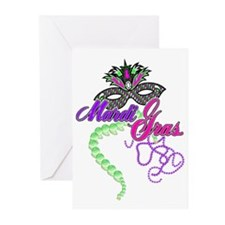Mardi Gras Greeting Cards (Pk of 10)