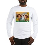 Angels with Yorkie Long Sleeve T-Shirt