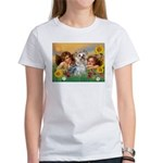 Angels with Yorkie Women's T-Shirt
