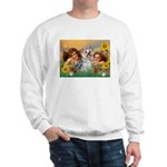 Angels with Yorkie Sweatshirt