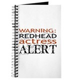 Warning: Redhead Actress Journal