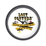 Lost Couture Wall Clock
