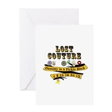 Lost Couture Greeting Card
