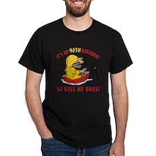 Fishing Gag Gift For 90th Birthday T-Shirt