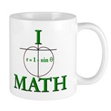 I Heart Math Coffee Mug
