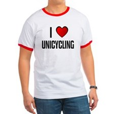 I LOVE UNICYCLING T