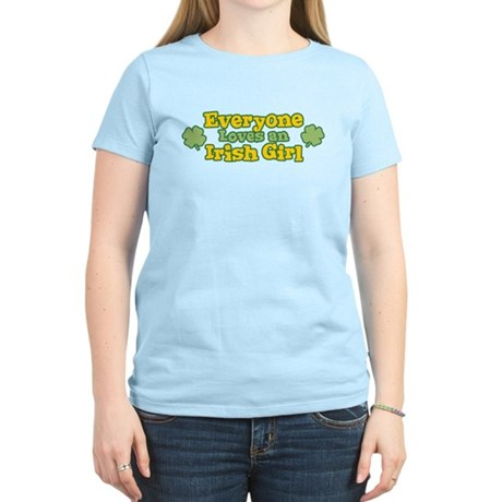 Irish Girl Womens Light T-Shirt