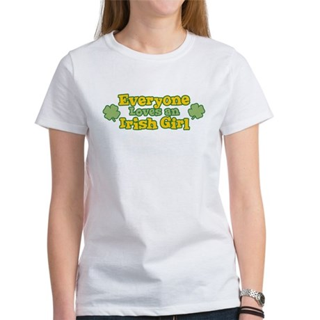 Irish Girl Womens T-Shirt