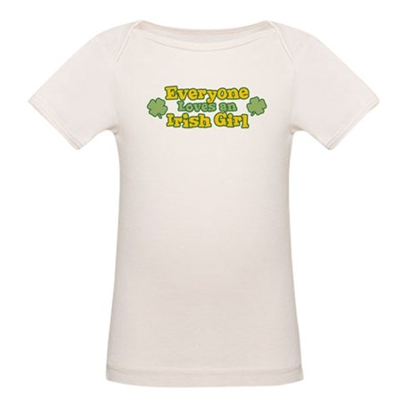 Irish Girl Organic Baby T-Shirt