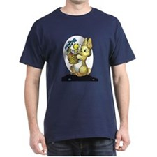 Bunny Daddy and Baby Duck T-Shirt