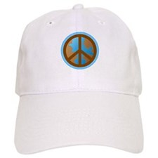 Peace Sign Earth Day Baseball Cap