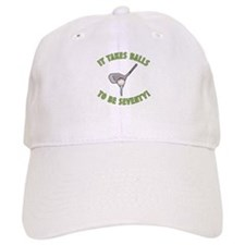 70th Birthday Golfing Gag Baseball Cap