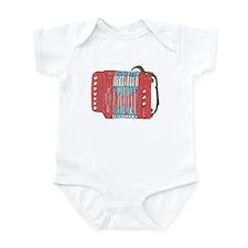 Accordion Infant Bodysuit