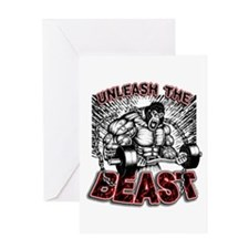 The BEAST Greeting Card