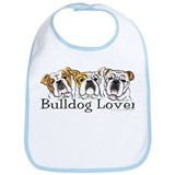 English Bulldog Lover Bib