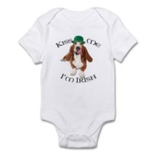 Cute Bassett hound Infant Bodysuit