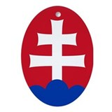 Slovak Emblem Ornament (Oval)