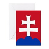 Slovak Emblem Greeting Cards (Pk of 20)