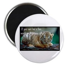 Tiger Coat Magnet