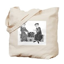Medieval Chess Tote Bag