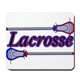 Lacrosse Sticks Mousepad