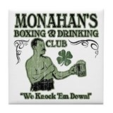 Monahan's Club Tile Coaster