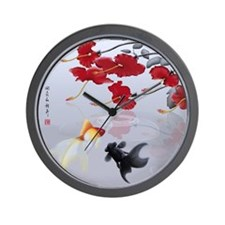 Asian Inspirations Tranquility Wall Clock