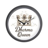Dharma Queen Wall Clock