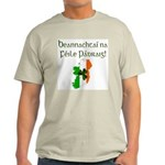 Gaelic & Map of Ireland Light T-Shirt