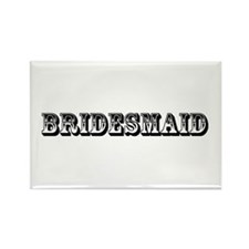 Bridesmaid - Old West Rectangle Magnet
