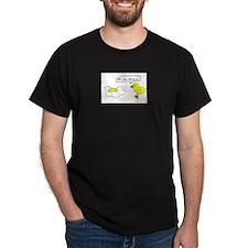 chicken animal poor Black T-Shirt