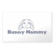 Bunny Mommy Rectangle Bumper Stickers