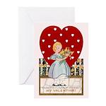 Retro Valentine's Day Greeting Cards (Pk of 20)