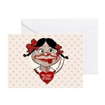 Funny Valentine's Day Greeting Cards (Pk of 10)