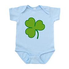 Pretty Green Shamrock Infant Bodysuit