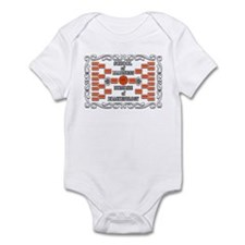Doctorate of Bracketology Infant Bodysuit