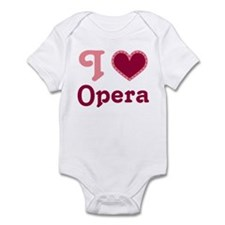 Opera Heart Infant Bodysuit