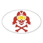 Lil' VonSkully Sticker (Oval 50 pk)