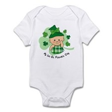 Plaid Girl 1st St. Pat's Infant Bodysuit