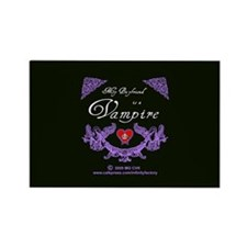 Boyfriend Vampire Heart Rectangle Magnet (10 pack)