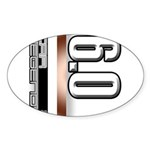 MOTOR V6.0 Sticker (Oval 50 pk)