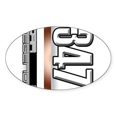 MOTOR V347 Sticker (Oval 10 pk)