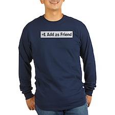 Add as Friend -- T