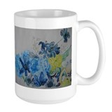 Cute Flowers in a vase Mug