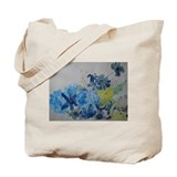 Unique Floral and botanical Tote Bag