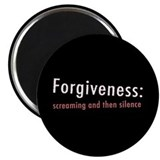Llamas &quot;Forgiveness&quot; Magnet