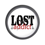 'LOST Addict' Wall Clock