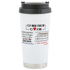 Forks Top 12 Ceramic Travel Mug